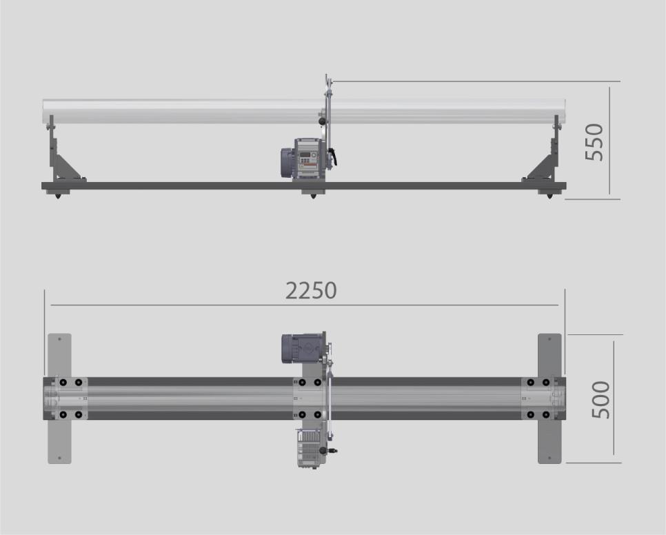Maßskizze-Caroba-Balancer-LongShafts-PMB