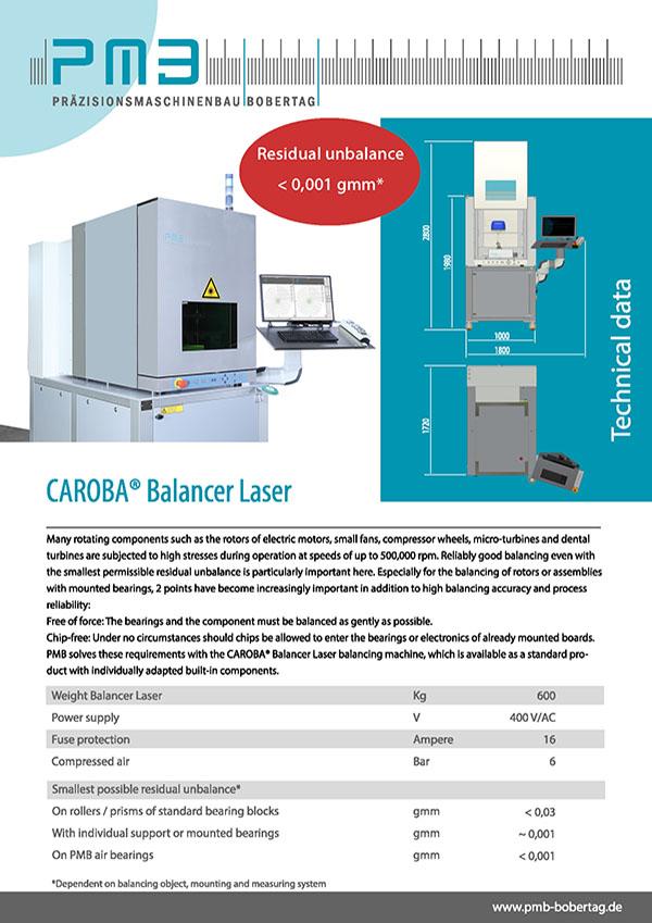 pmb-balancer-laser-balancing-machine-data-sheet